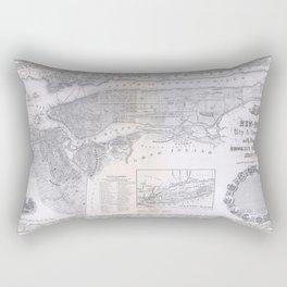 New York 1855 Rectangular Pillow