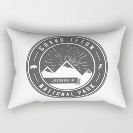 Grand Teton National Park Rectangular Pillow