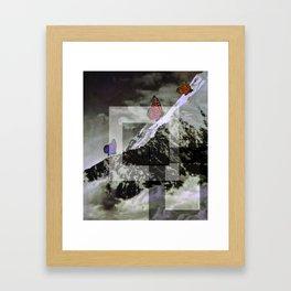 butterskies Framed Art Print