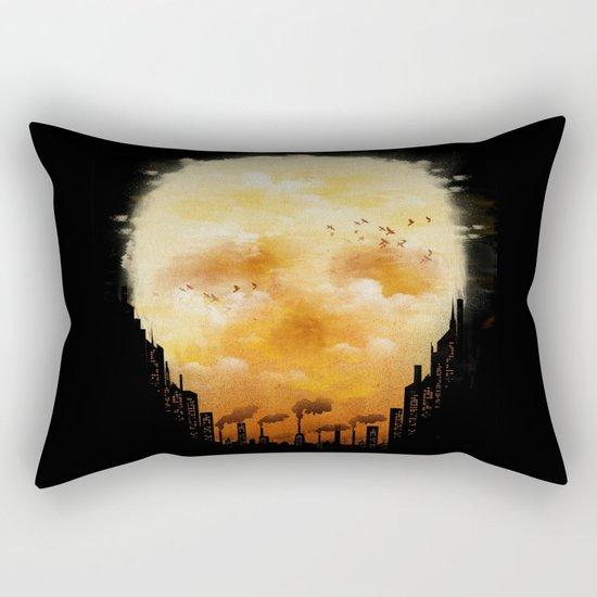 Polluted Promises Rectangular Pillow
