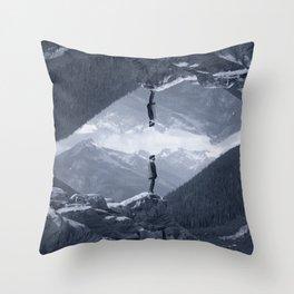 Uploading Nature Throw Pillow