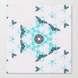 Blue Heart Dance Canvas Print