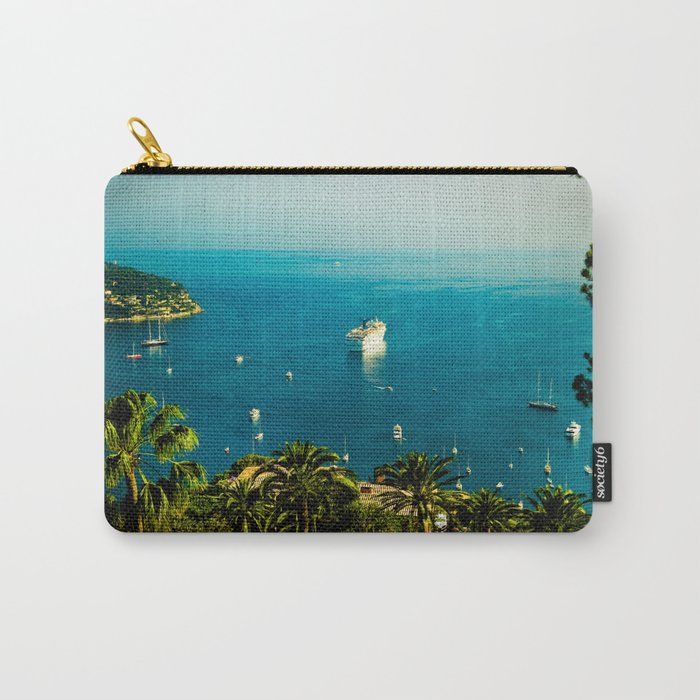 Côte d'Azur Carry-All Pouch