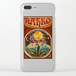Nahko & Medicine for the People | Fan Made Poster Clear iPhone Case