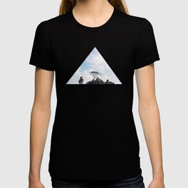 Tree on the rock T-shirt