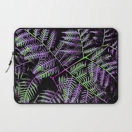 Purple & Green Bracken Laptop Sleeve