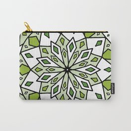 Green Glass Carry-All Pouch