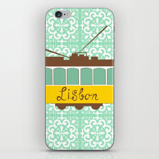 Lisbon Tram iPhone & iPod Skin