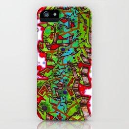 forgive graffiti iPhone Case
