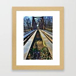 Bridge 6 Framed Art Print