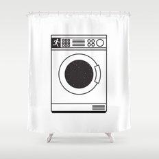 NOTHING #2 - TGI Sunday Shower Curtain