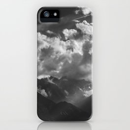 Between Rays iPhone Case