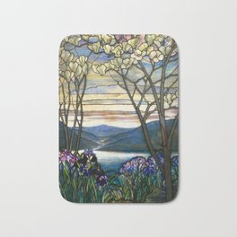 Louis Comfort Tiffany - Decorative stained glass 5. Bath Mat