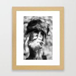 Smoking is Cool Framed Art Print