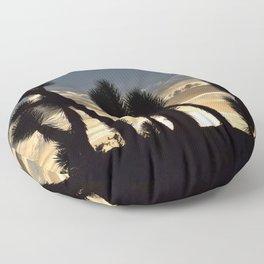 Desert Silhouettes Floor Pillow