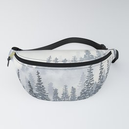 A Gray Forest Fanny Pack