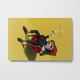 Fly in My Soup (Colour) Metal Print