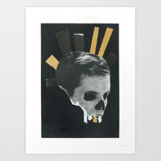 SKULL PRINCE Art Print