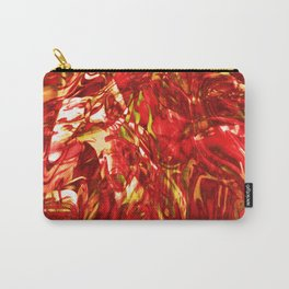 Fluid Painting (Red Version) Carry-All Pouch