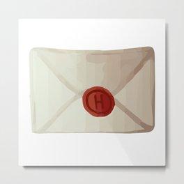 Letter of acceptance Metal Print