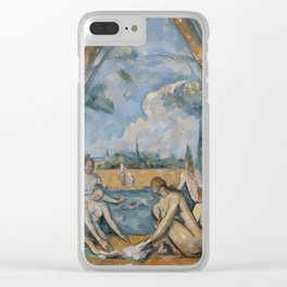 Camille Pissarro - Large Bathers Clear iPhone Case