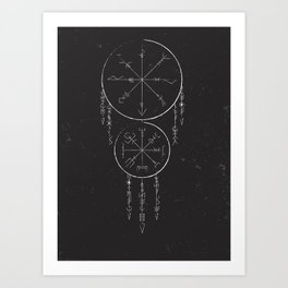 Whisper Of Runes Art Print