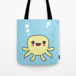 Kawaii Octopus Tote Bag