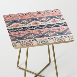 -A23- Epic Anthropologie Traditional Moroccan Artwork. Side Table