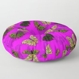 PurpleLightButterfly Floor Pillow
