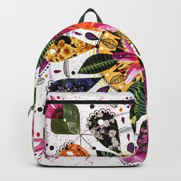 Flower Mandala Backpack