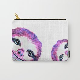 Sally the Sloth twinning Carry-All Pouch