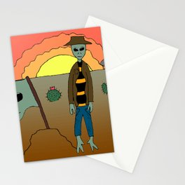 A Martian Discovery Stationery Cards