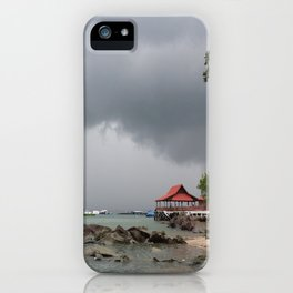 STORM OVER THE HORIZON iPhone Case