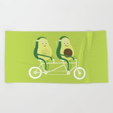 AvoCardio Beach Towel