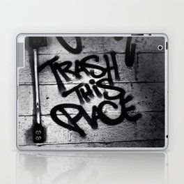 Trash This Place Laptop & iPad Skin