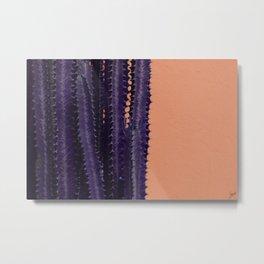 Spike Coral Metal Print