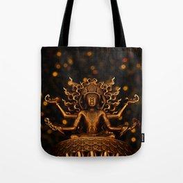 Tibetan Buddha 1 Tote Bag
