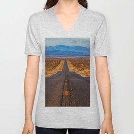 Desert Highway Unisex V-Neck