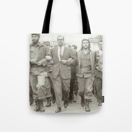 Che Guevara, Fidel Castro and Revolutionaries Tote Bag