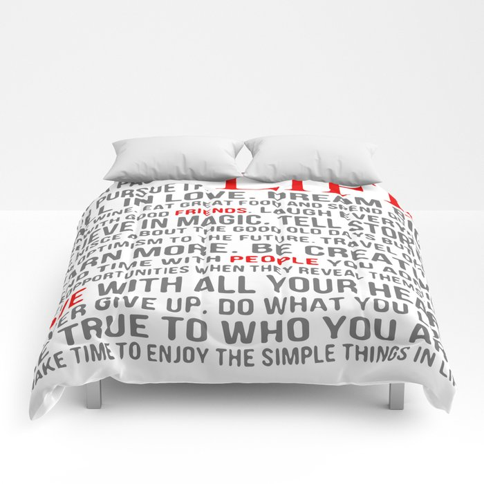 All about life Comforters