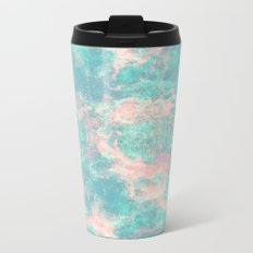 Ocean Foam Metal Travel Mug