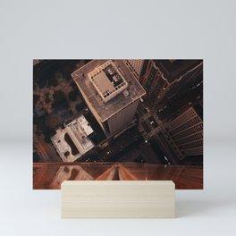 san fran roof Mini Art Print