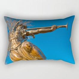 Golden Spirit of Louisiana Rectangular Pillow