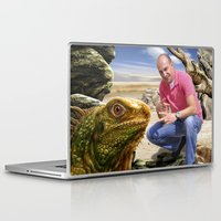 lizard Laptop & iPad Skins featuring Lizard by amanvel