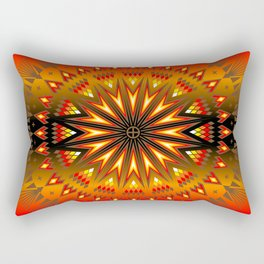 Fire Spirit Rectangular Pillow