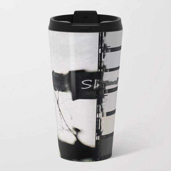 Marking The Artwork Metal Travel Mug
