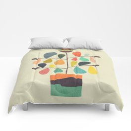 Potted Plant 4 Comforters