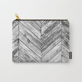 Vintage wood pattern Carry-All Pouch