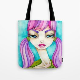 Original Watercolor IIIustration/Eve by JennyMannoArt Tote Bag