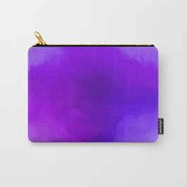 Dreamy Lavender Indigo Clouds Abstract Carry-All Pouch